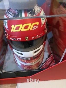 Charles Leclerc Ferrari 1000th GP 1/2 Scale Helmet Collectors Ltd Ed No 437/1000