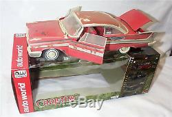 Christine / 1958 Plymouth Fury Dirty Version Working lights 118 Scale ASS119