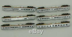 Con-cor N Scale #008506 The Valley Flyer Limited Edition Santa Fe Passenger Set