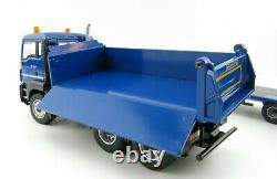 Conrad 77242/0 MAN TGS M 3-axle Three Side Tipper with Low Loader 150 Scale