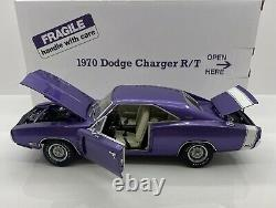 Danbury Mint 1/24 Scale 1970 DODGE CHARGER R/T 440 PLUM LIMITED EDITION & RARE