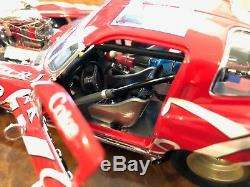 Danbury Mint BRAND NEW 1963 Coca-Cola Corvette Pro Mod Scale 124