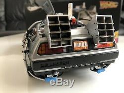 Delorean Scale 118 Hot Wheels Back To The Future Time Machine Elite BCJ97