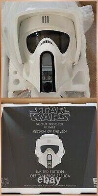 EFX Star Wars ROTJ Imperial Biker Scout Trooper Helmet 11 Scale Limited Edition