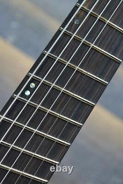 ESP LTD M-1007 Multi-Scale Bolt-On See Thru Black Satin El. Guitar #W18031821