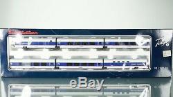 Electrotren Talgo Amtrak Pendular 200 6 car set HO scale