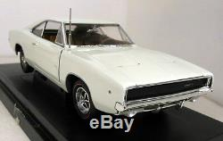 Ertl 1/18 Scale 36512 1968 Dodge Charger R/T White diecast model car