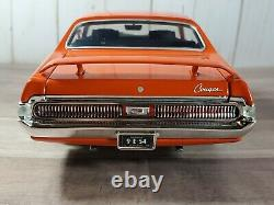 Ertl American Muscle 1969 Mercury Cougar Eliminator 118 Scale Diecast'69 Car