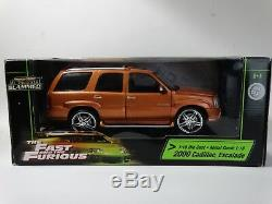Ertl American Muscle Fast And Furious 2000 Cadillac Escalade 118 Scale Diecast