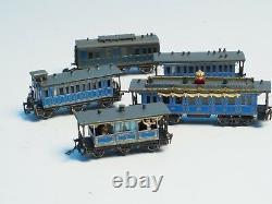 Extra detailed 8770 RAILEX Marklin King Ludwig II 5 car brass set z-scale