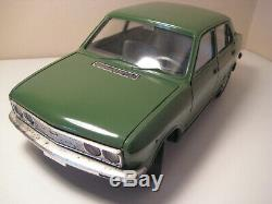 FIAT 132 PROMO by Pocher Italy #31 Vintage 1972 1/13 scale MIB Bella Macchina