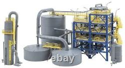 Faller HO Scale Building/Structure Kit Chemical Plant/Modern Production Facility
