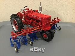 Farmall Super M & Cultivator Toy Tractor CUSTOM, CASEIH, 1/16 Scale Ertl