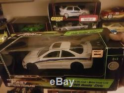 Fast and Furious Honda civic 118 Scale Diecast Movie Car replica