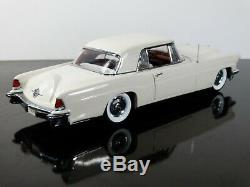 Franklin Mint 1956 Lincoln Continental Mark II Limited 124 Scale Diecast Car