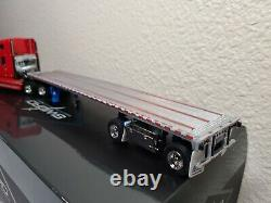 Freightliner Century Truck with East Flatbed Trailer Red Sword 150 Scale New