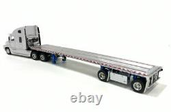 Freightliner Century Truck with East Flatbed Trailer White Sword 150 Scale New