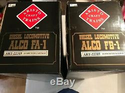 G Scale Aristocraft 22319 Southern R. R. Alco Fa-1 & Fb-1 Diesels-new-g991s