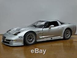 GMP 2001 Chevy Corvette C5-R Tribute Silver 112 Scale Diecast Street Model Car