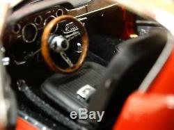 GMP Custom 1968 Ford Mustang GT Fastback Red 124 Scale Diecast #17 of 350 Car