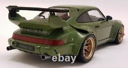 GT Spirit 1/18 Scale Porsche 911 964 RWB Atlanta Olive Green Resin Model Car