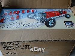 Gilbow Miller Race Car Tin Metal Clockwork Windup 18 Scale Cox Style Indy Racer