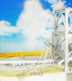 HO 187 Scale Grain Elevator 120 ft Silos Custom Built Model Railroad