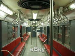 HO scale Proto 1000 MTA (NYC Transit) Subway 4 Car set Tuscan R17 #6805