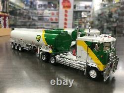 Highway Replicas Bp Tanker Road Train Trailer & Dolly 164 Scale Model Truck