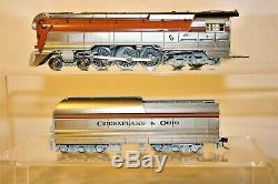 Ho Brass Psc 15890-1 Precision Scale C&o L-1 Orange Hudson 1988 Run F/p, Lights