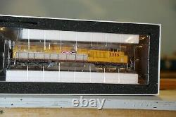 Ho scale athearn locomotives genesis dcc sound Union Pacific ES44AC