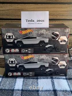 Hot Wheels x Tesla Cybertruck 110 Scale RC Car Cyberquad 2021 READY TO SHIP