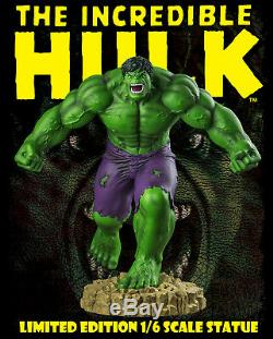 Hulk The Incredible Hulk Limited Edition 1/6th Scale Statue