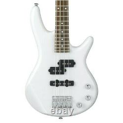 Ibanez GSRM20 MIKRO Bass Guitar short scale 4 string in Pearl White Ltd Edition
