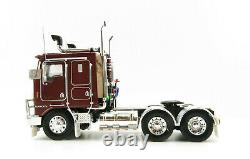 Iconic Replicas Kenworth K100G 6x4 Prime Mover Burgundy Scale 150