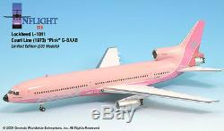 InFlight200 Courtline Pink G-BAAB Lockheed L1011 TriStar1200 Scale RETIRED