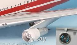 Inflight200 TWA Trans World Airlines 80s Bold Titles 747-100 1200 Scale N53110