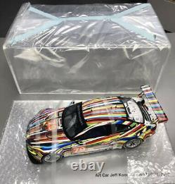 Jeff Koons BMW Art Car 118 Scale E92 M3 GT2 Le Mans Racer Brand New Never Open
