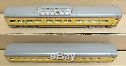 K-Line K-4690F UP/Union Pacific 18' Scale Aluminum 2 Car Passenger Set O Gauge