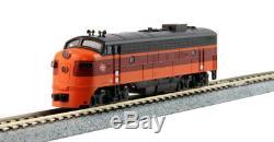 KATO 1060430 N Scale EMD FP7A & F7B Milwaukee Road A/B Set 95A & 95B 106-0430