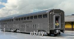 KATO 106084 N Scale Sante Fe El Capitan 10 Car SET w Display Unitrack 106-084