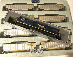 KATO 1064627 + 1768937 N Scale CSX Coalporter 8 Cars + 1 loco Set 106-4627