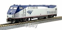 KATO 376111 HO SCALE GE P42 AMTRAK Genesis Phase V Late # 203 37-6111