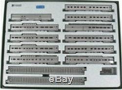 Kato 106-056 N Scale California Zephyr 11 Car Passenger Set