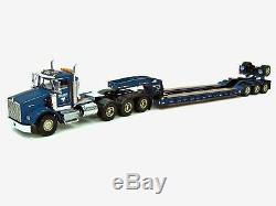 Kenworth T800W with 4-Axle Rogers Lowboy Miller WSI 150 Scale #32-2000 New
