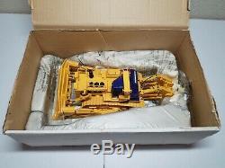 Komatsu D575 A SR Dozer with Super Ripper & Yellow Tracks HiMoBo 150 Scale Model