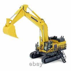 Komatsu PC1250-11 Mining Excavator with Bucket Yellow NZG 150 Scale #999 New