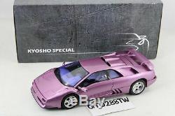 Kyosho 118 scale Lamborghini Diablo SE30 Jota 1995(Violet) LE. 500 FREE SHIPPING