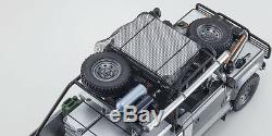 Kyosho- Land Rover Defender 90 Movie Edition Tomb Raider 118 Scale High Detail
