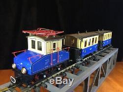 LGB 2030 Locomotive (2)3012 Passenger Cars G Scale Steeplecab Train